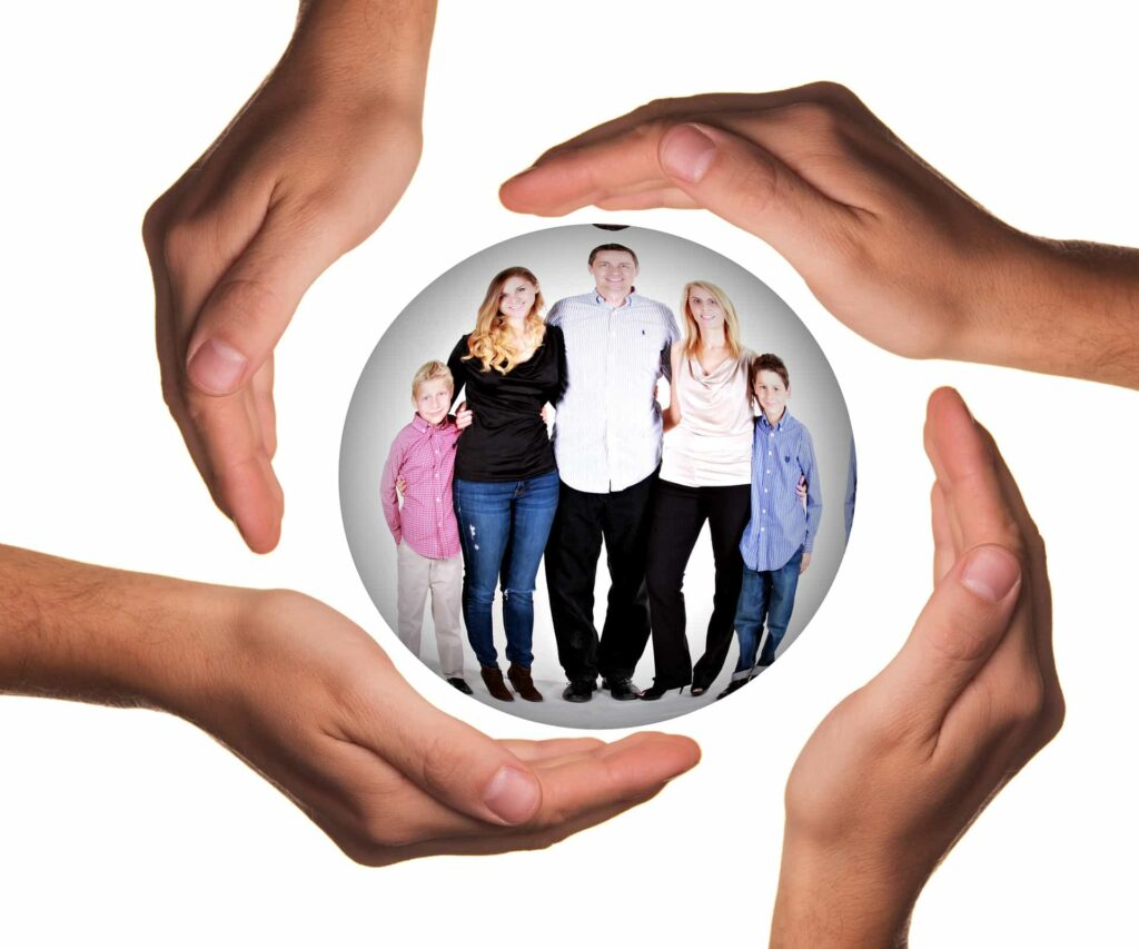 Family in a bubble - best family law solicitors london