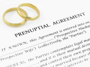 an example of a prenup agreement