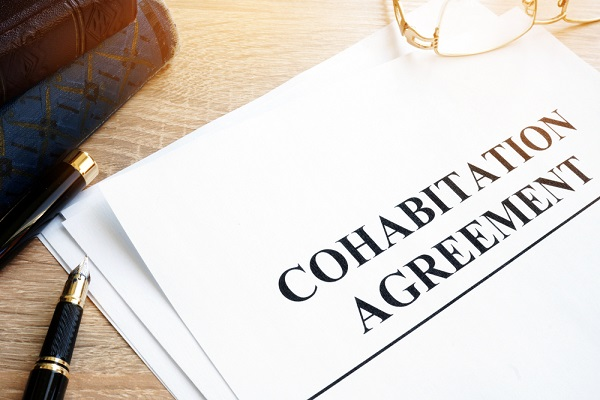 a cohabitation agreement document
